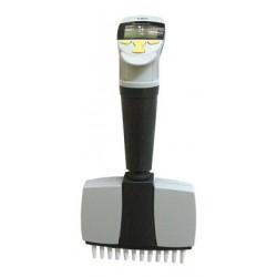 Пипетка-дозатор 5-50 мкл электрон.12-канальная 4630032