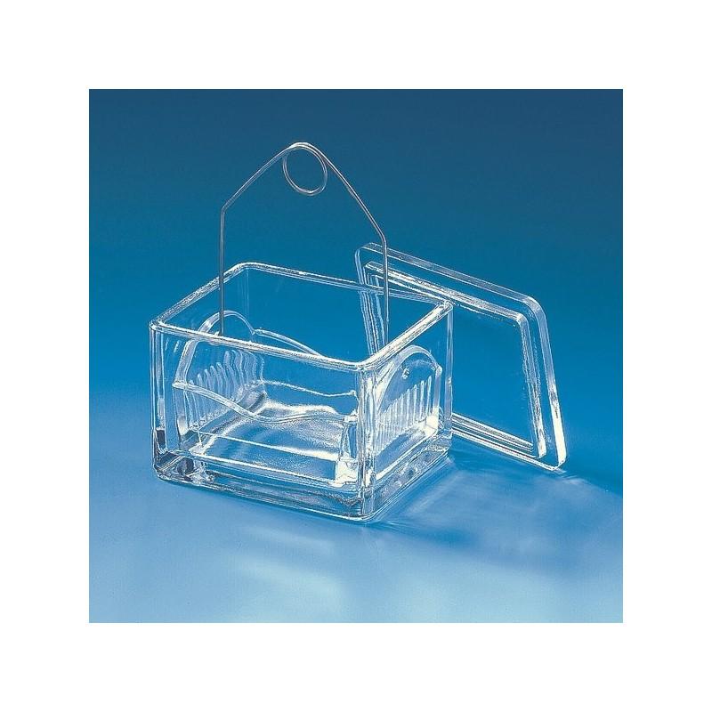 Ванночка для окрашивания предм.стекол  10 гнезд в компл.