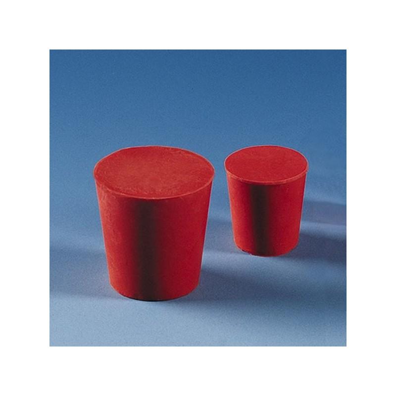 Пробка резиновая 32х26х30мм красная
