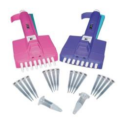 Пипетка-дозатор 5-50 мкл Color-8 (4173202)