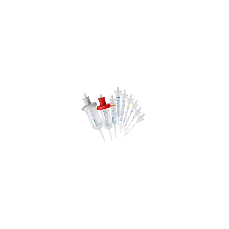Наконечники Combitips advanced 0,5мл для степпера (цветовой