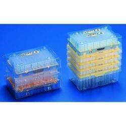 Наконечники в кассетах 0,1-10мл 10кассет по 96шт, упакованные вместе