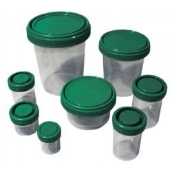 Контейнеры РР для биообразцов, с закруч.зеленой крышкой, 60мл