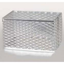 Контейнер 256х152х152мм алюминиевый для пробирок (HS20341B)