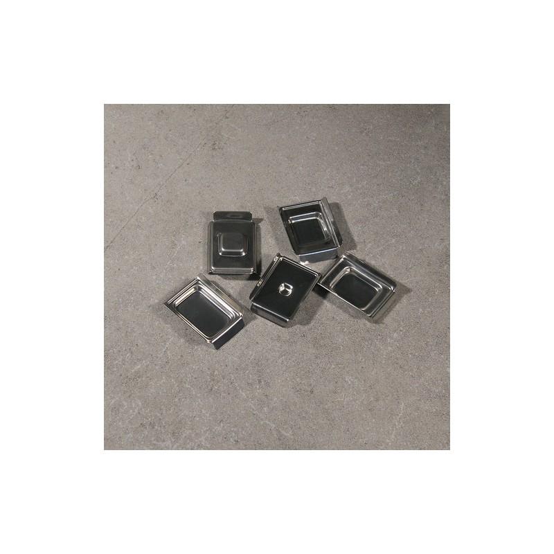 Форма для гистологии 24х24х6мм из нержавеющей стали