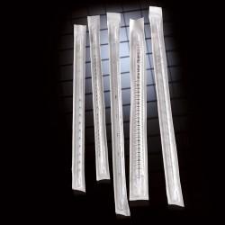 Пипетка 1мл серологическая, градуированная 1/100мл, в инд уп (sterile) (Италия)(№ 3101)