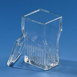 Ванночка для окрашивания предметных стекол  16 гнезд .