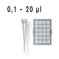 Наконечники 0,1-20мкл (штатив- 96шт) (стерильные)