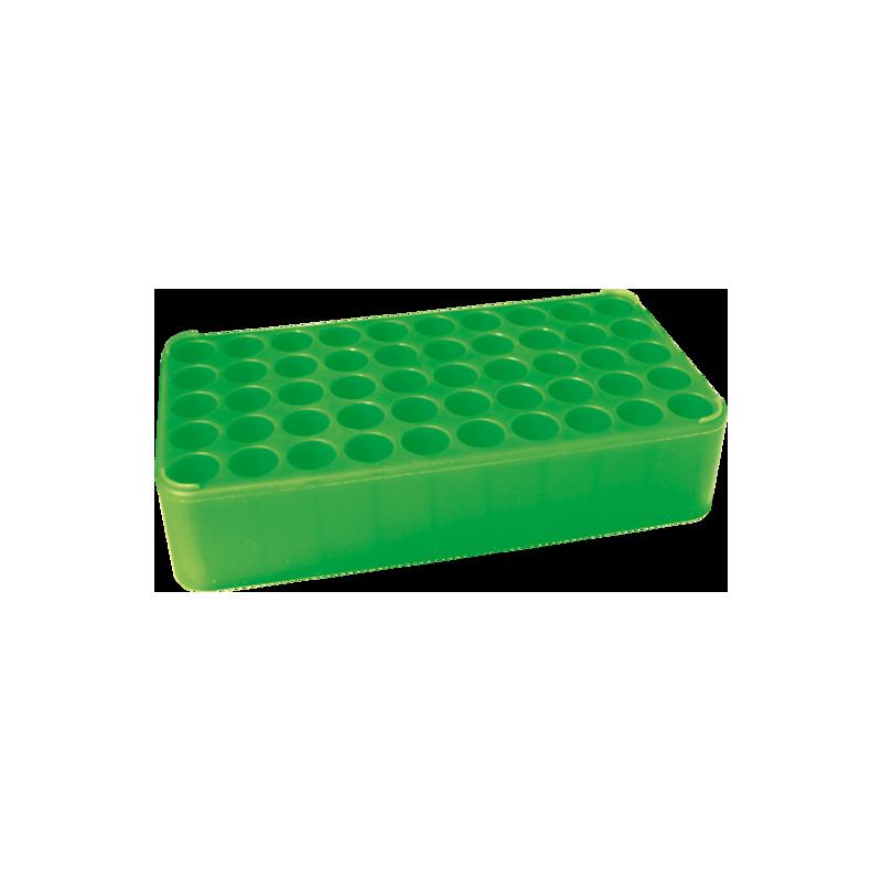 Штатив для пробирок d-17мм на 50 гнезд, зеленый