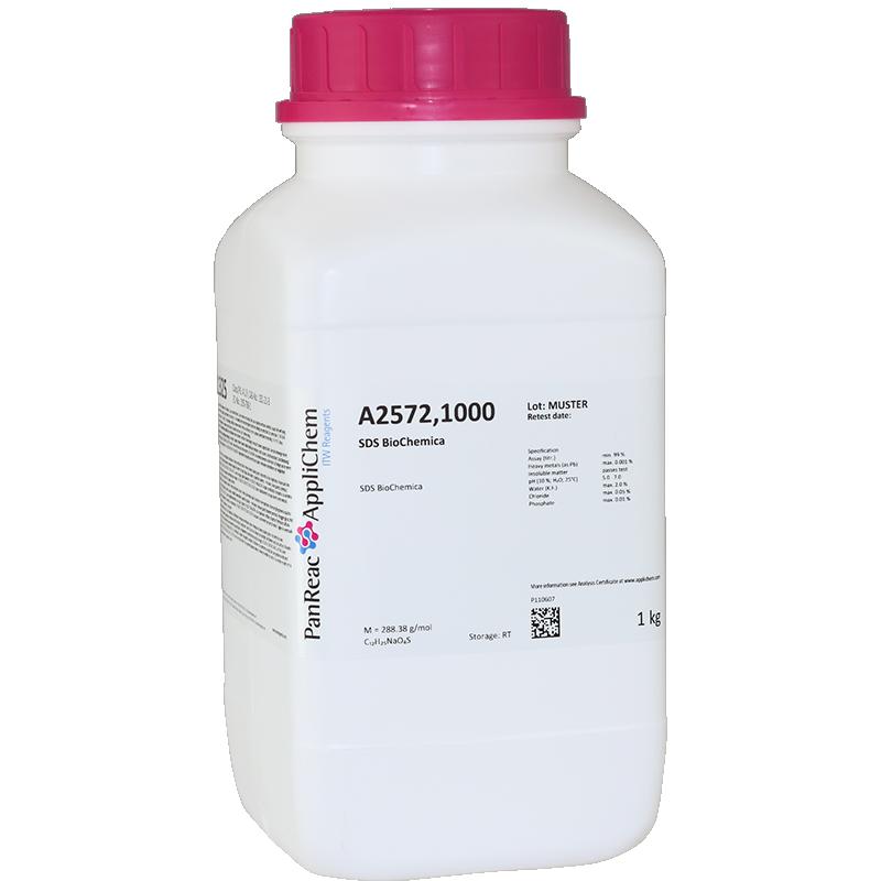 Натрия додецилсульфат (BioChemica), 1кг