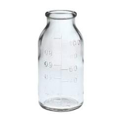 Бутылка БК3--100 мл с глад.гор.,градуир. (уп-88 шт)