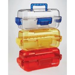 Контейнер-сумка 380х196х160мм прозрачный с крышкой