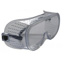 Очки защитные ширина 15,24см, глубина 7см с перфорированной рамкой