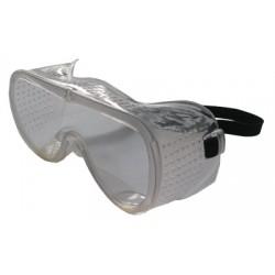 Очки защитные ширина 15см, глубина 6,35см с перфорированной рамкой