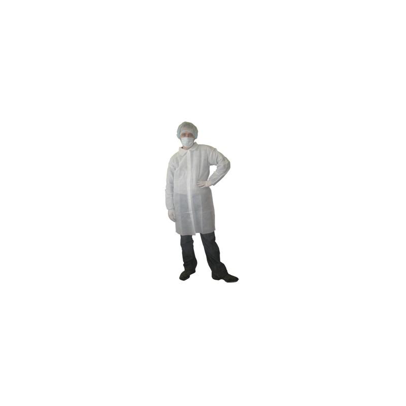 Халат лабораторный одноразовый размер L