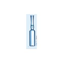 Ампулы форма-В 5мл с белой маркировочной панелью 83х14,75/0,55 (Швейцария )(1143618)(упак-530шт)
