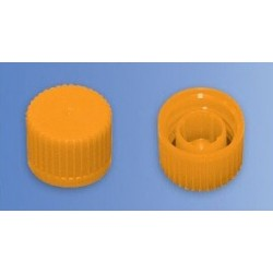 Крышка для криопробирок с О-образным кольцом, желтые (упак-50шт) (056620803) (Германия)
