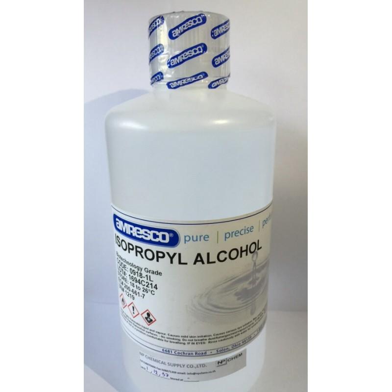 Спирт изопропиловый (BIOTECHNOLOGY GRADE), 500мл