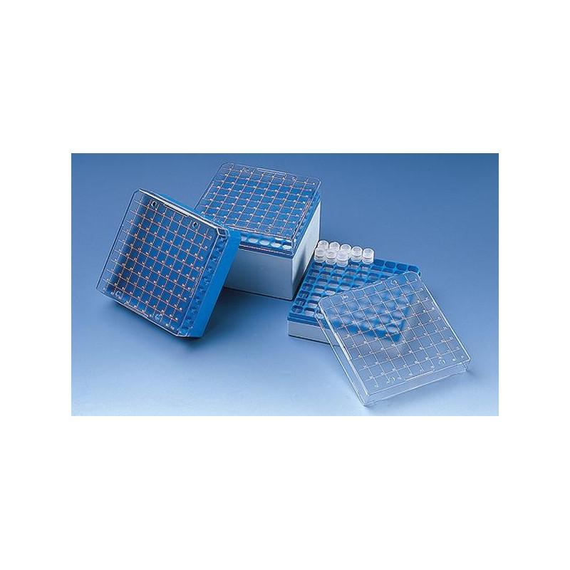 Штатив для криопробирок 1,5-2мл на 100 гнезд