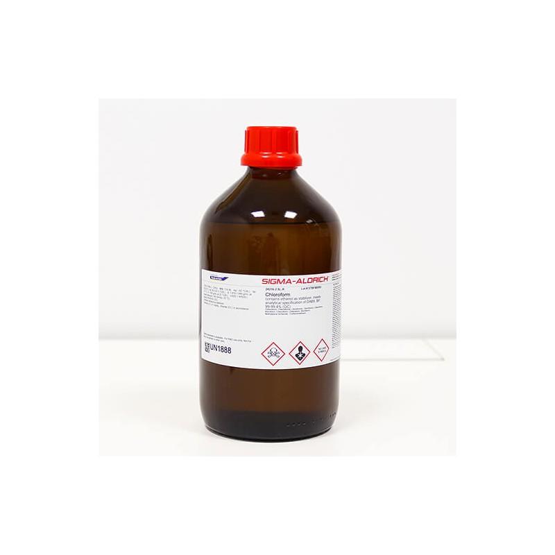 Хлороформ, содержит 100-200 ppm амиленов в качестве стабилизатора, ≥99,5%, 500 мл