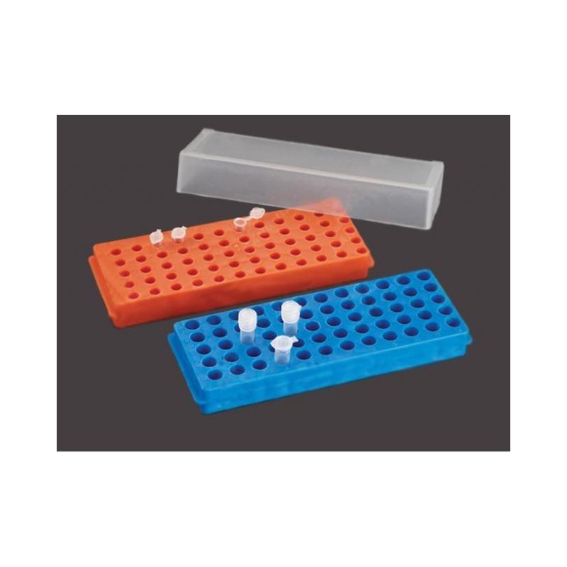 Штатив двусторенний для микропробирок (60) 1,5мл, (60) 0,5мл