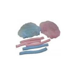 """Шапка докторская одноразовая 21 розовая или синяя с одной резинкой (упк-100шт) (Китай)"""""""