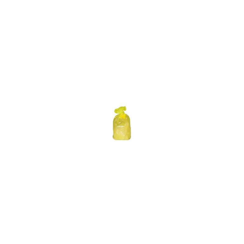Пакет полиэт.для сбора мед.отходов класса Б, 1000х600 мм (желтый)