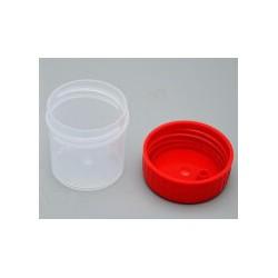 Контейнер  РР 35*38мм для био материала 30мл с закручивающейся крышкой (№2030)