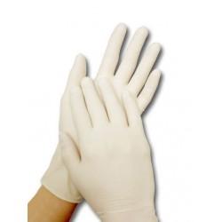 Перчатки латексные Derma-Tex  XS (5-6) (нестерильные)(упак-50пар)