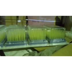 Наконечники 0-250 мкл в наборе: 5 кассет по 96шт, для пипеток Thermo Fisher и Dlab (Китай)