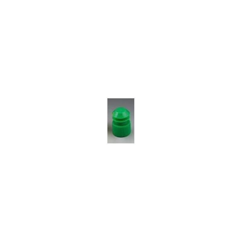 Пробка для пробирок 16х100мм, зеленый, РЕ