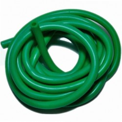 Трубка латексная  зеленая 0,48х0,24х0,95см (Е-007)