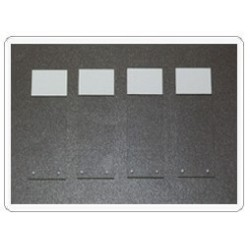 Стекла предметные 76x25x1,2мм с + заряж. покрытием (уп-72шт) (7111-КИТ/J)