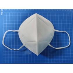 Маска-респиратор KN95 без клапана, белая (уп-10шт) (Китай)