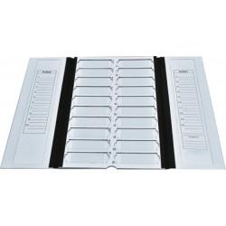 Контейнер картонный на 20 предметных стекол (Китай)
